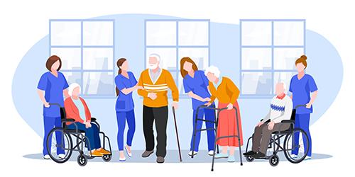 介護士・看護師・理学療法士など介護や福祉業界の採用動画