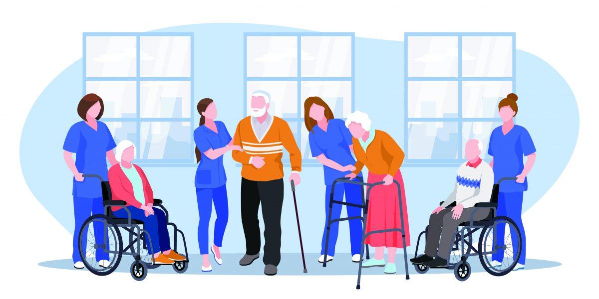介護士のやりがいを伝えるインタビューや採用動画