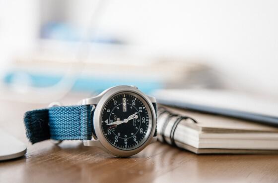時計のCM映像事例